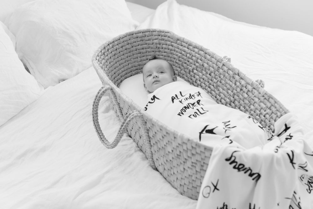 Image of HOPES + DREAMS ORGANIC COTTON MUSLIN WRAPm