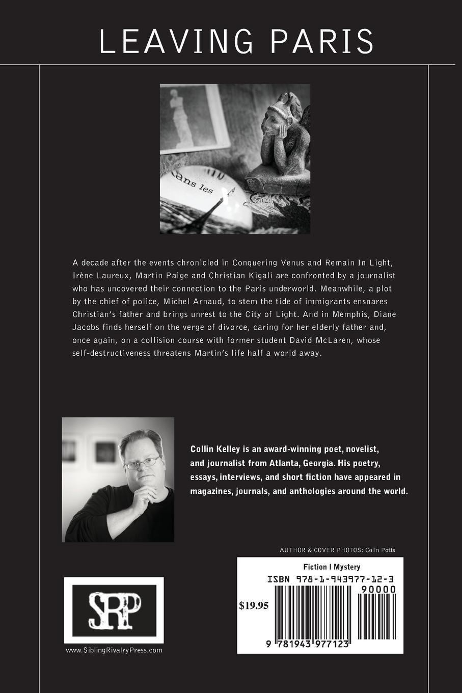 Image of Leaving Paris: The Venus Trilogy Book Three by Collin Kelley