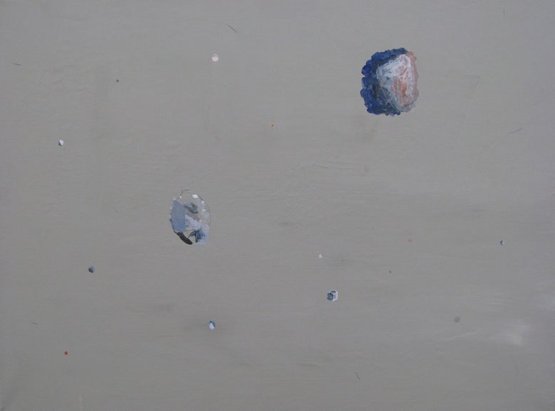 Image of Debris painting