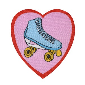Image of Roller Skate & Cactus Mini Patch Pack