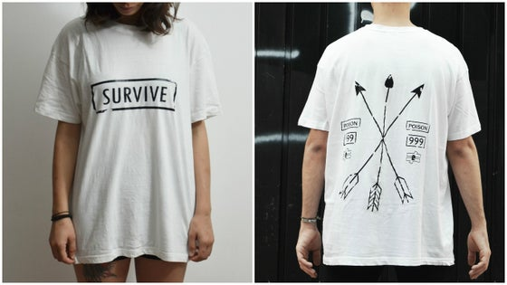 Image of SURVIVE TEE