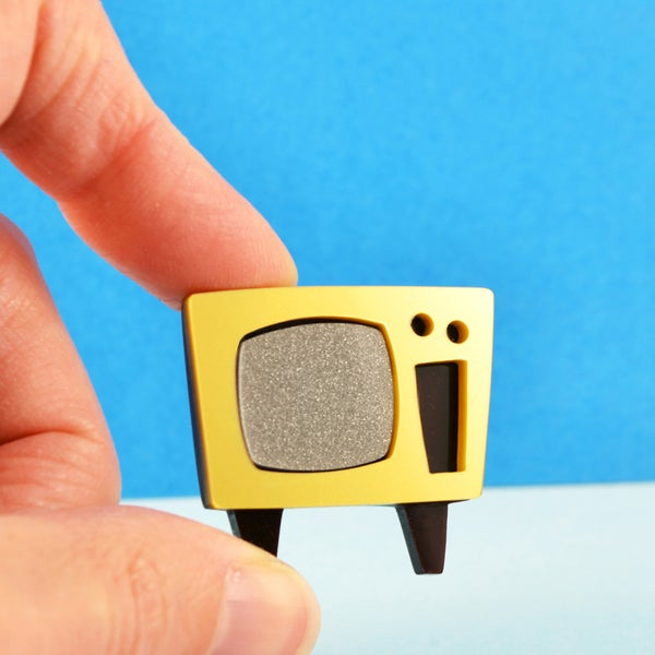 Image of Television Brooch