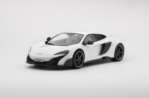 Image of 1:18 - McLaren 675LT Silica White - 10% Prre-Order Special - Regularly $135.00