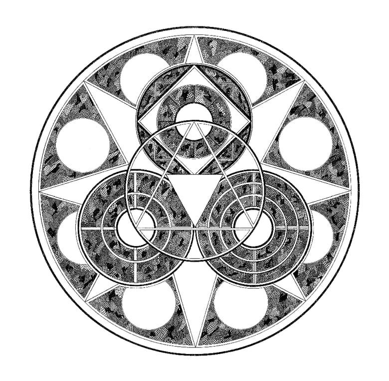 Image of Yantra Emblem (Giclée print)