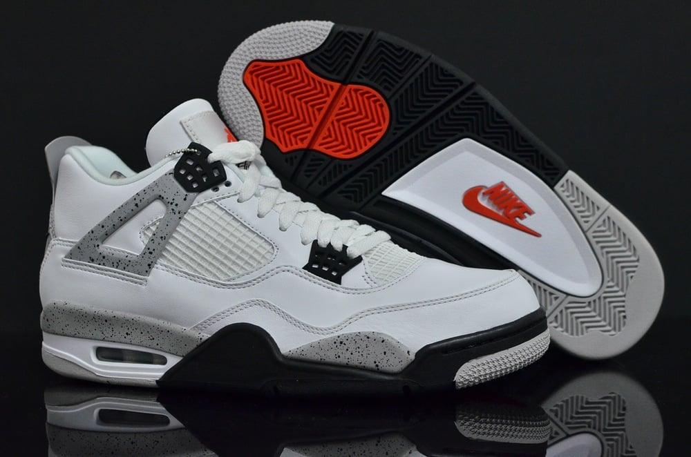 """new style a43f8 c2b07 2016 Nike Air Jordan 4 OG """"White Cement"""""""