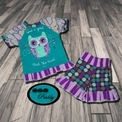 Image of **SOLD OUT** God is Good Owl the Time Short Set - Size 2/3