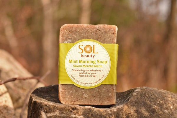 Mint Morning Soap - Sol  Beauty