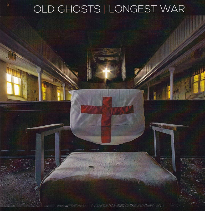 "Image of Longest War/ Old Ghosts split 7"" yellow vinyl"