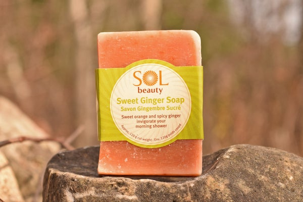 Sweet Ginger Soap - Sol  Beauty
