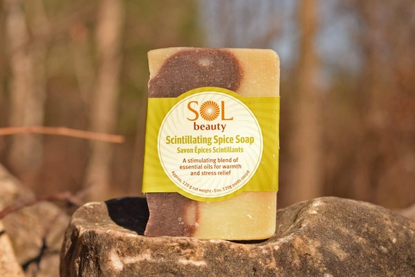 Scintillating Spice Soap - Sol  Beauty