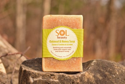 Oatmeal and Honey Soap - Sol  Beauty