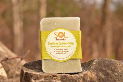 Soothing Cypress Soap - Sol  Beauty