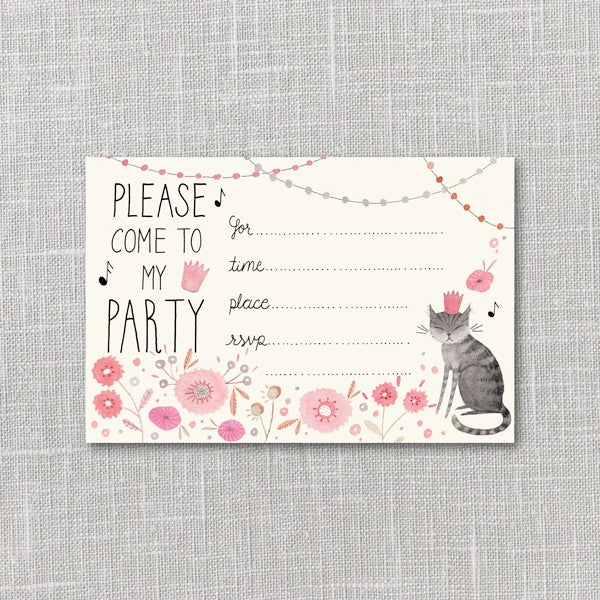 Image of Kitty Party Invitation Instant Download PDF