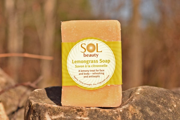 Lemongrass Soap - Sol  Beauty