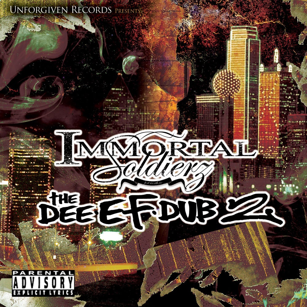 Image of Immortal Soldierz CD's (Welcome 2 Tha Gas Chamber & Others)