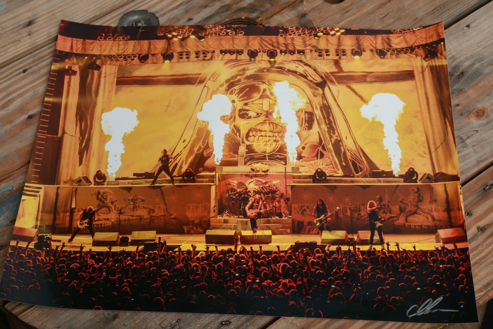 Image of Iron Maiden Aces High 18x24 print
