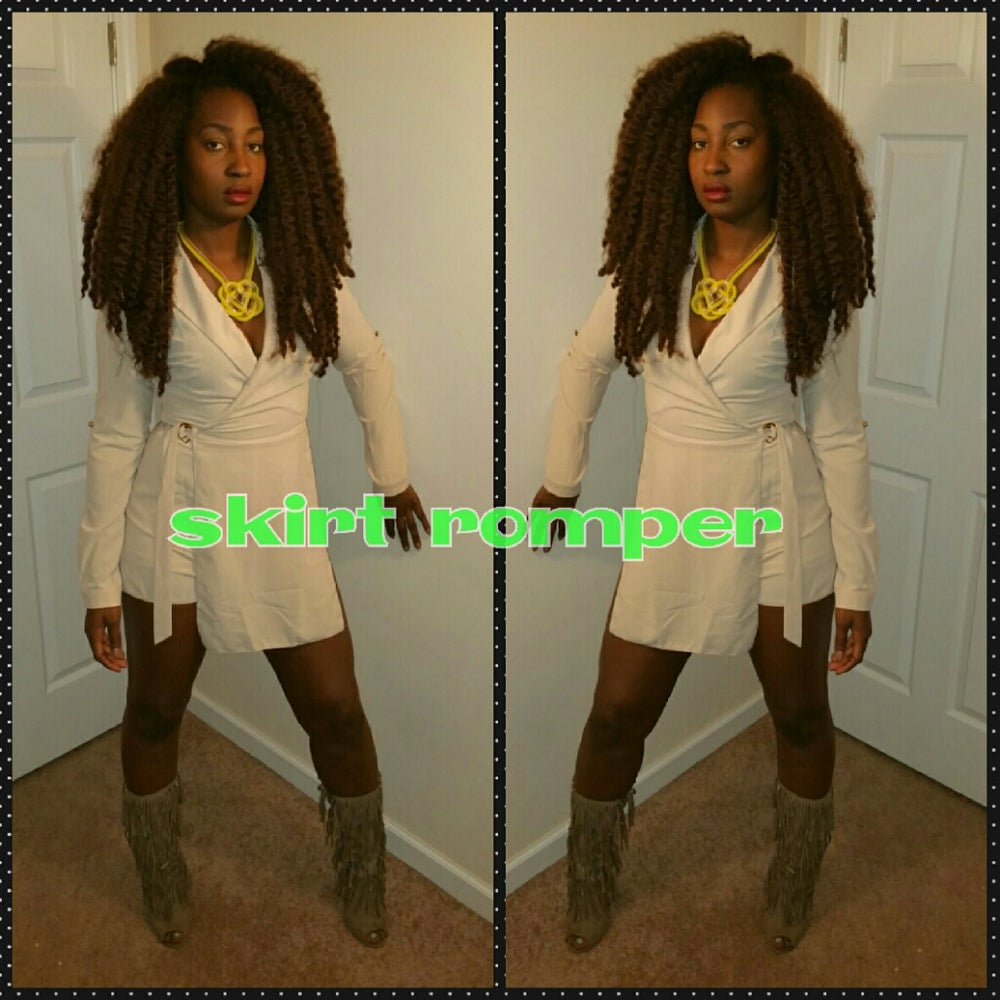 Image of Shorts romper