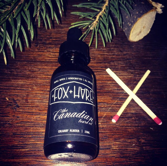 Image of The CANADIAN. Beard Oil - 1 Oz