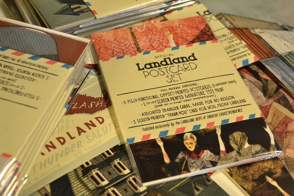 Image of Official Landland Postcard Set (Vol. 1)