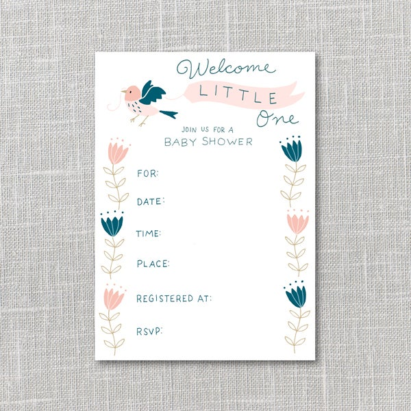 Pdf Baby Shower Invitations