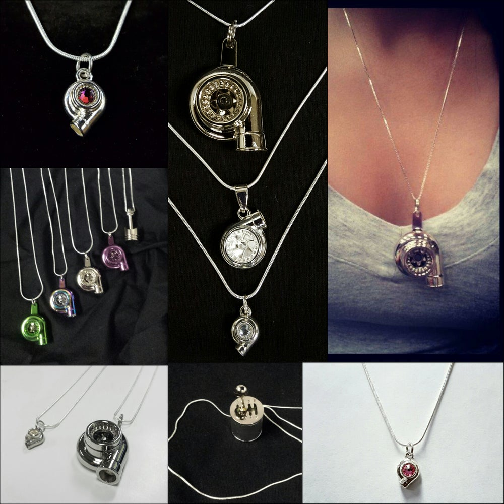 Image of Car Part Necklaces