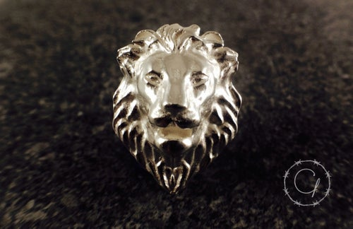 Image of We are Lion, Not Sheep Lapel Pin