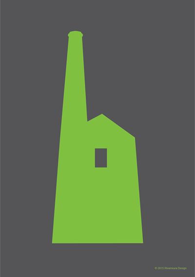Image of Prussia Cove Tin Mine Green