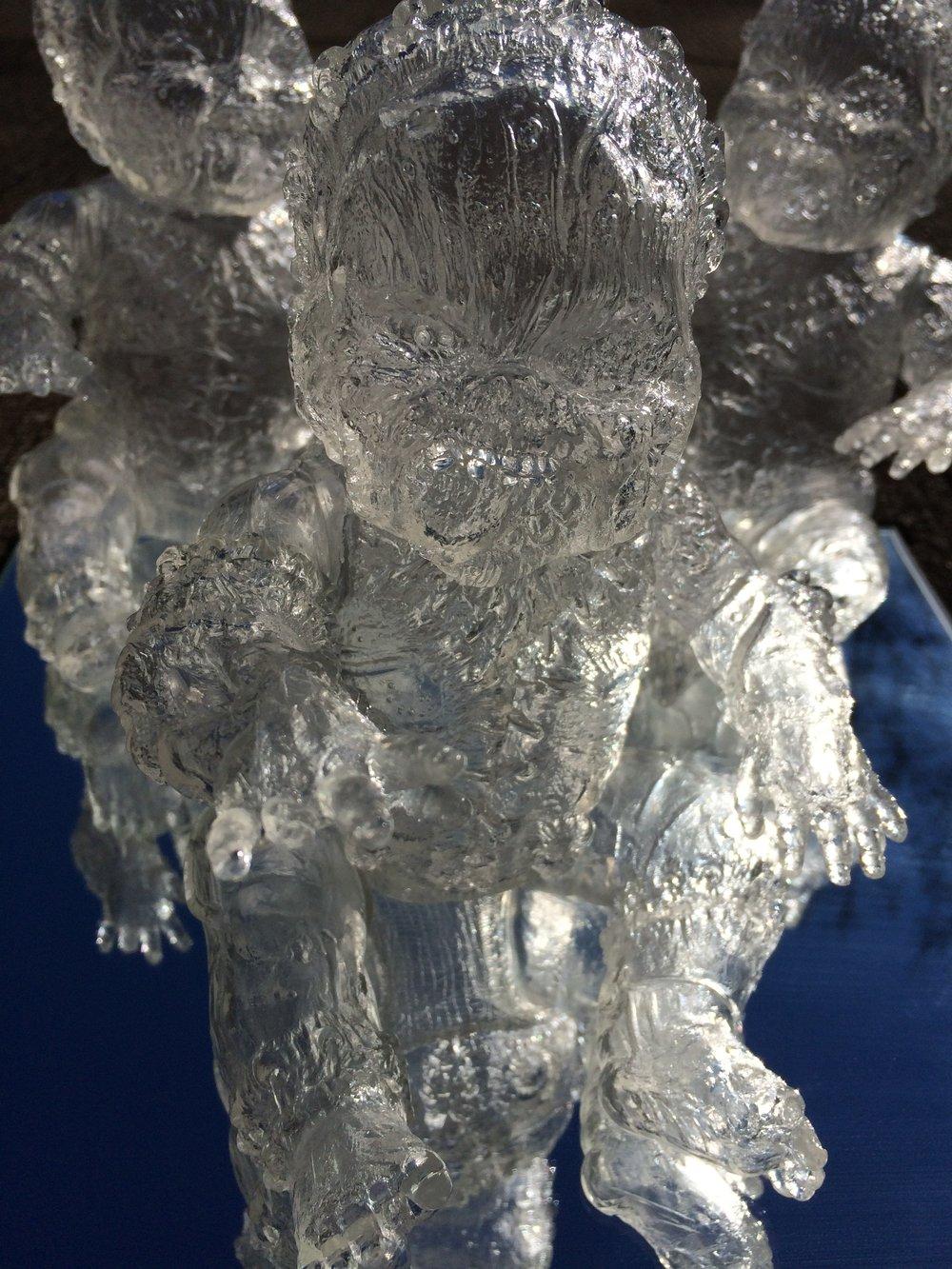 Image of Gergle Blank Clear Vinyl
