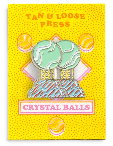Image of Crystal Balls Pin
