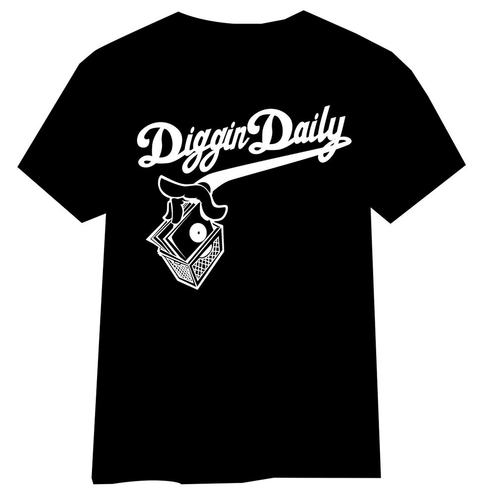 Image of DIGGINDAILY FULL LOGO SS SHIRT