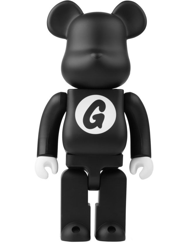 Image of Medicom Toy Bearbricks x GOODENOUGH (400%) / Black