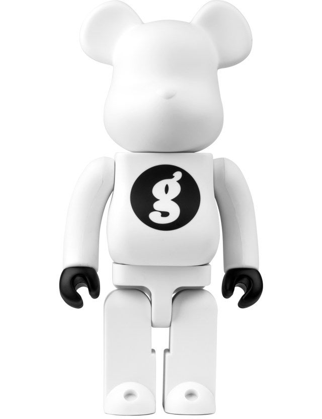 Image of Medicom Toy Bearbricks x GOODENOUGH (400%) / White