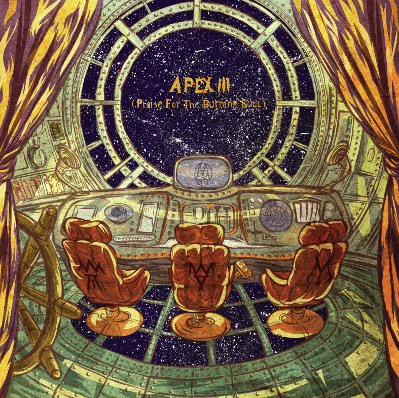 "Image of NEW ALBUM VINYL ""APEX III (Praise For The Burning Soul)"""