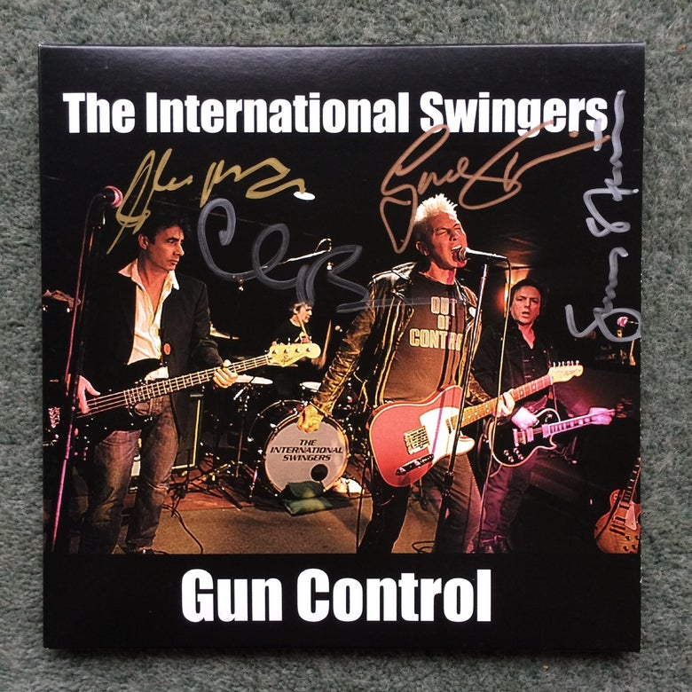 "Image of Gun Control - Signed 7"" Vinyl Single"