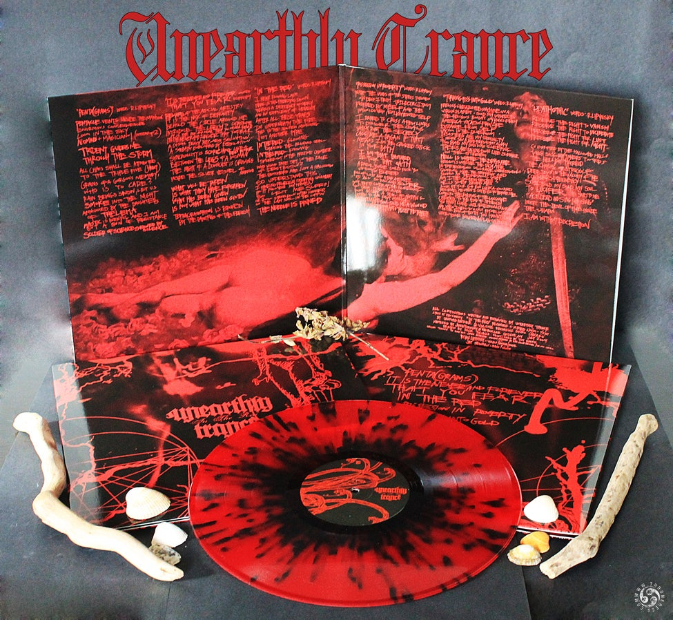 UNEARTHLY TRANCE - In The Red / VINYL LP (collector's ed., ltd. 75)