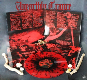 Image of UNEARTHLY TRANCE - In The Red / VINYL LP / 🞇Collector's 🞇Black