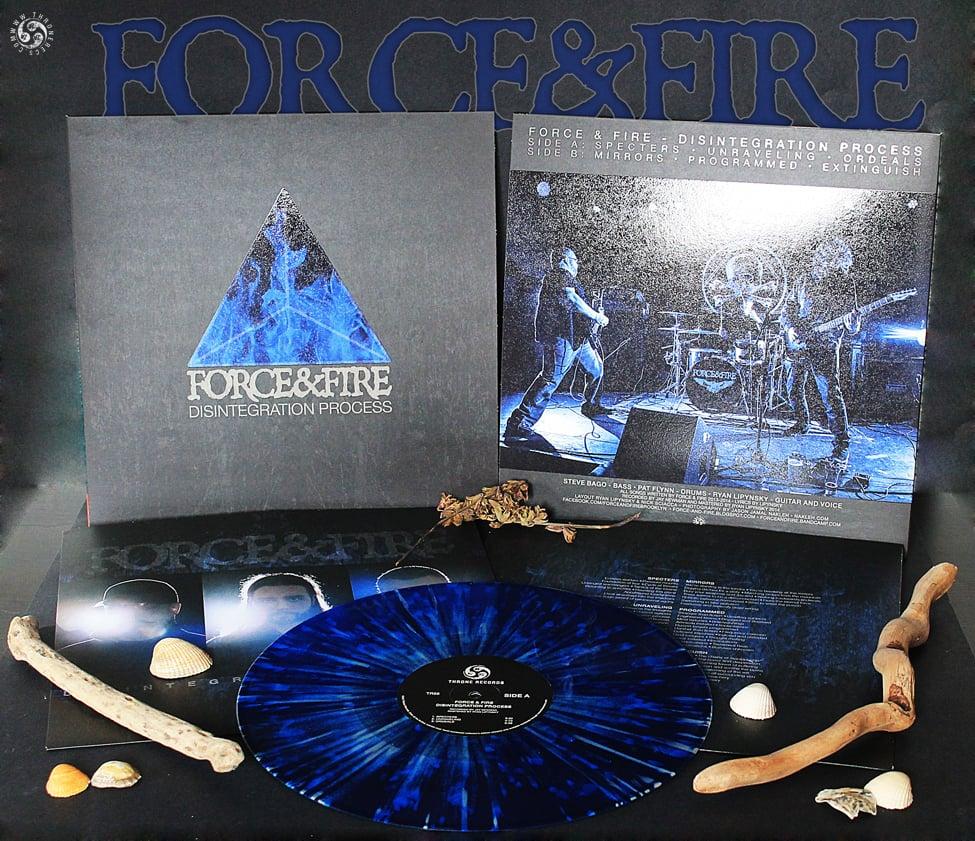 FORCE & FIRE - Disintegration Process / VINYL LP (collector's, ltd. 75)