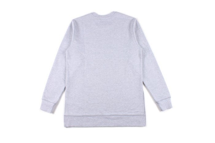 Image of Grey // Distressed Sweatshirt