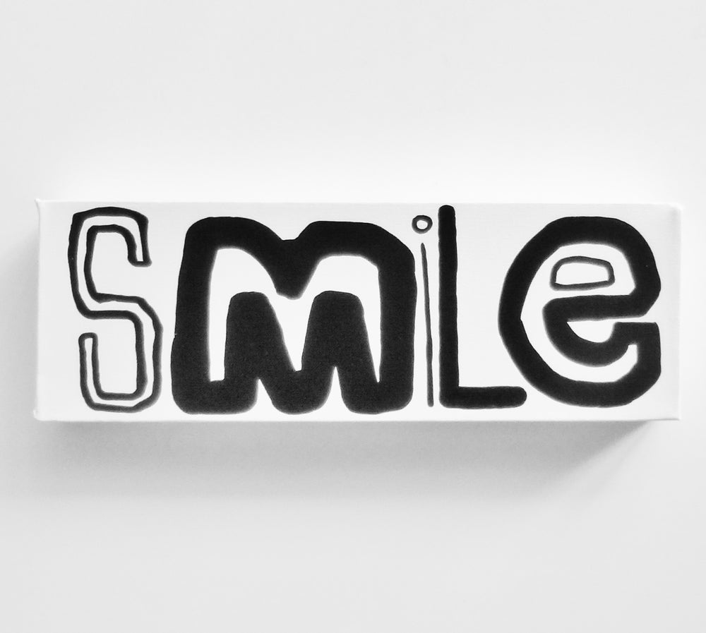 """Image of SMiLe - 4"""" X 12"""""""