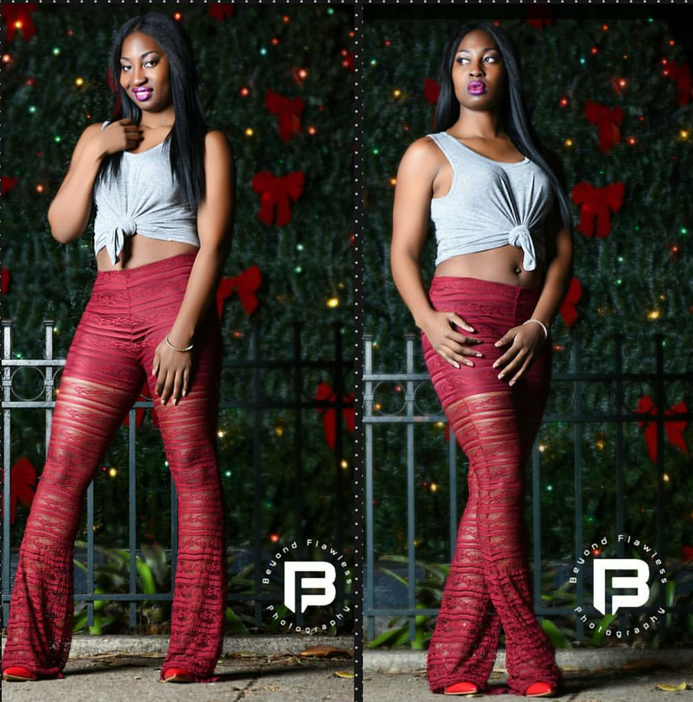 Image of Lace bell bottoms $35