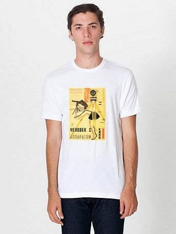 """Image of  """"Man With A Movie Camera.""""- 1922. T-SHIRT/ POSTER."""