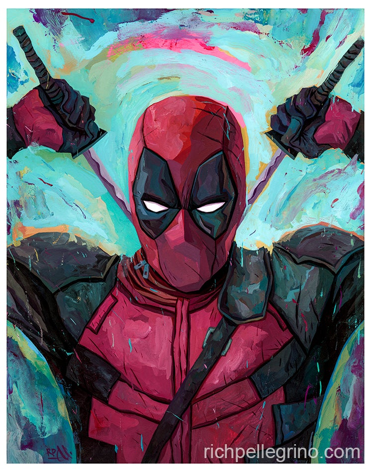 Image of Deadpool 11x14 Print