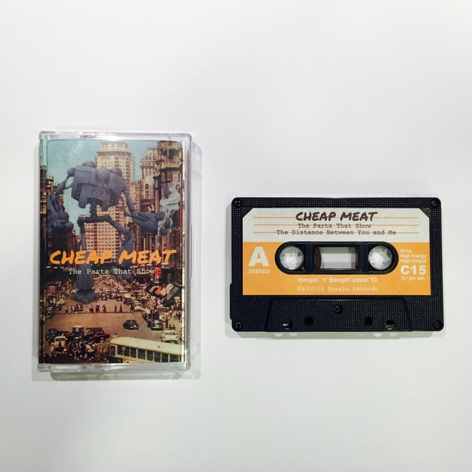 Image of The Parts That Show EP Cassette (Limited to 50).
