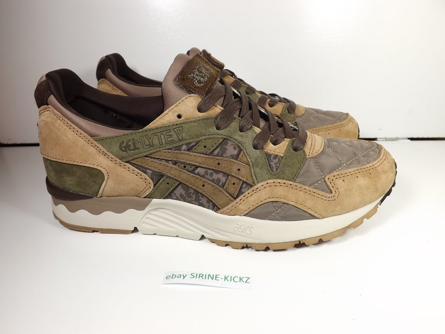 "Image of ASICS GEL-LYTE V X KICKS LAB ""SBTG"" - LIGHT BROWN/MID BROWN"