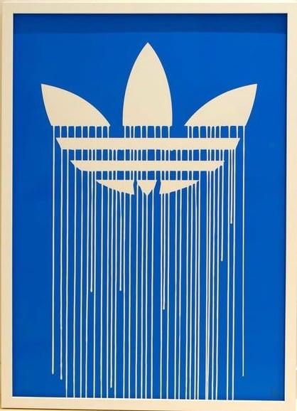 Image of Zevs - Liquidated Adidas