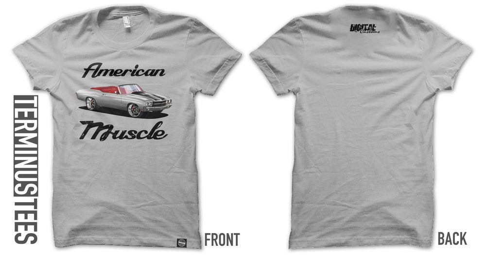 Image of American Muscle Tee - Stone Grey