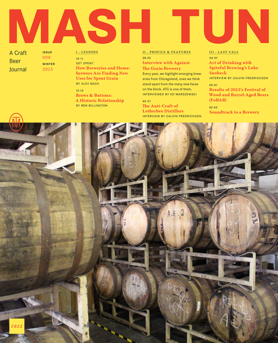 Image of Mash Tun Journal #8