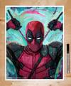 Deadpool 11x14 Print