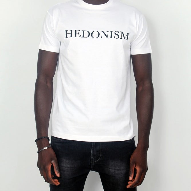 Image of Hedonism Classic White Tee