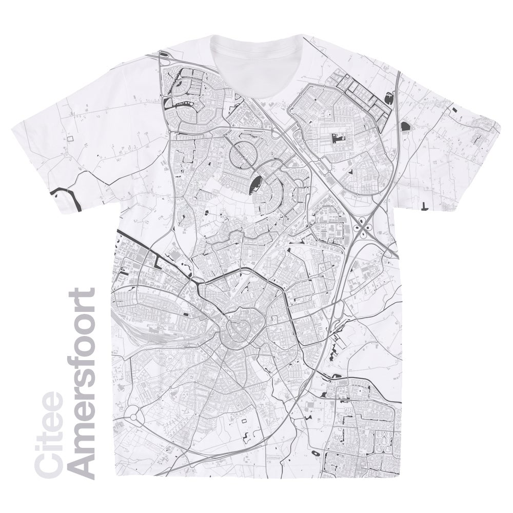 Image of Amersfoort map t-shirt